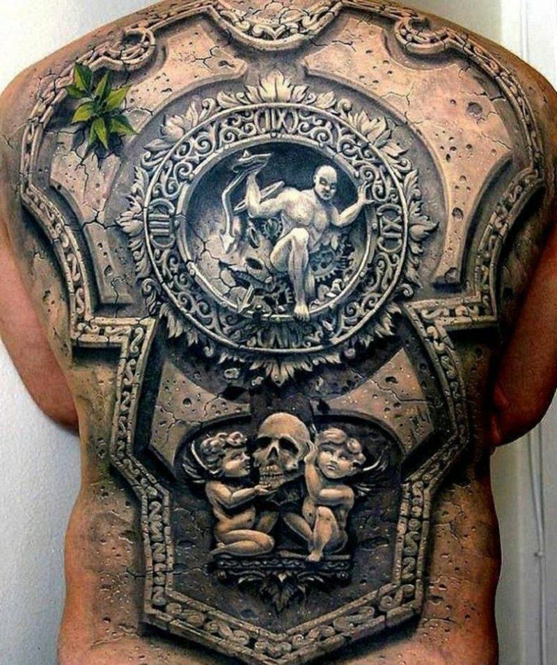 Tattoo Vorlagen Männer 3D
