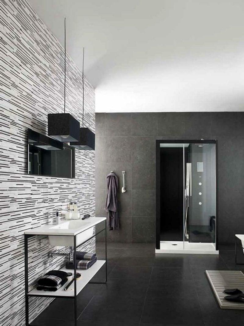 Fliesen günstig modern Badezimmer