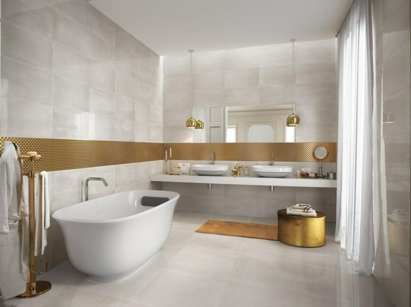 Badezimmer Fliesen moderne Designideen