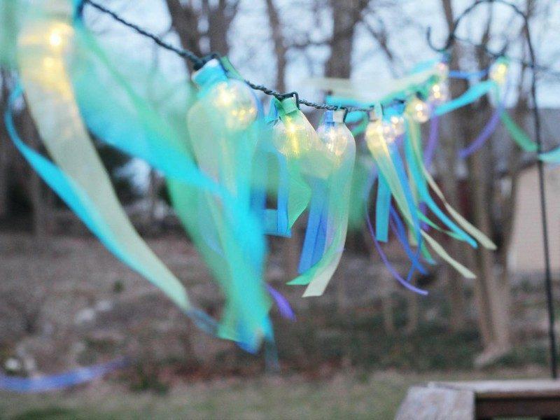 DIY Ideen romantische Lichterkette selber machen