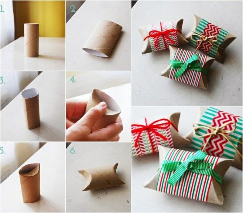 Geschenke basteln und fantasievoll verpacken