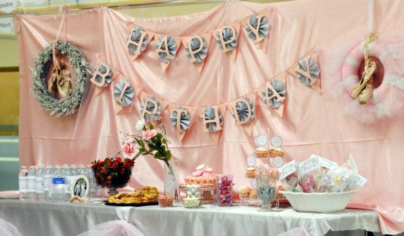Basteln Ideen Partydeko Kindergeburtstag