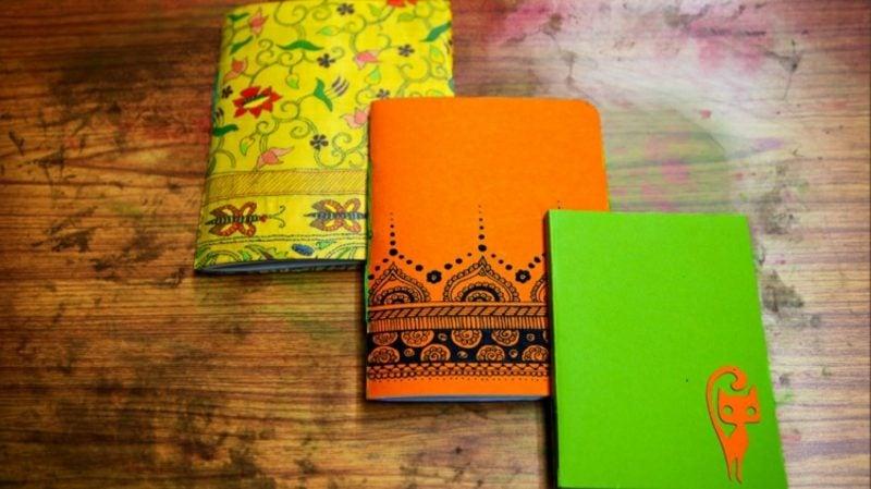 Basteln mit Papier Buchhüllen