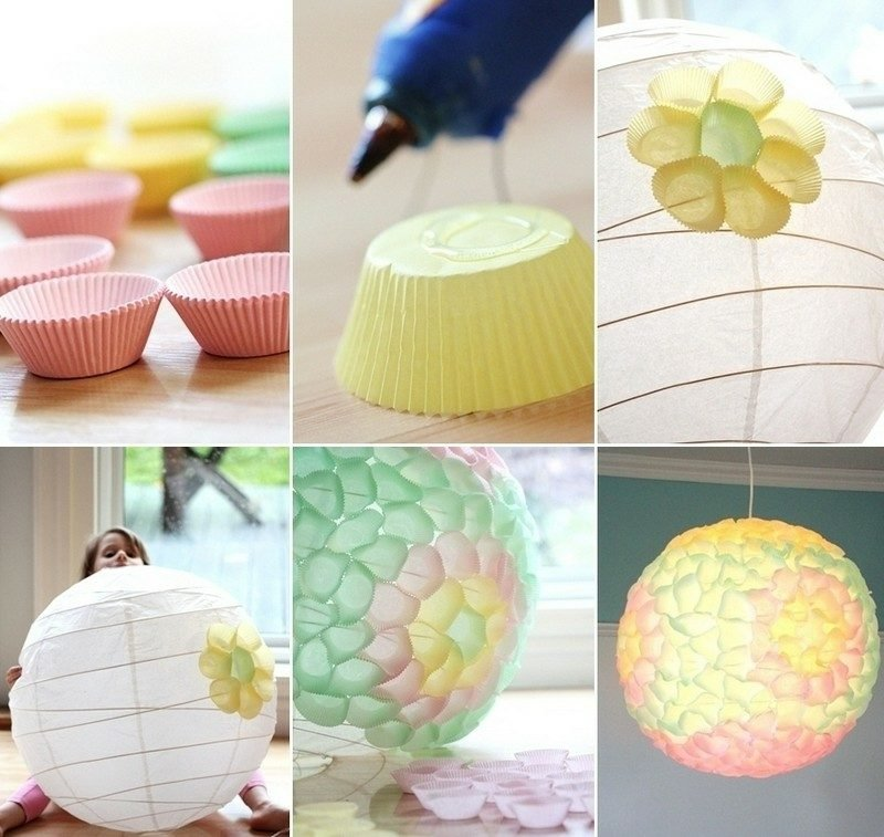 DIY Ideen Laterne dekorieren