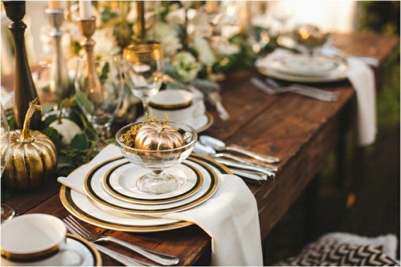 Basteltipps Tischdeko Herbst
