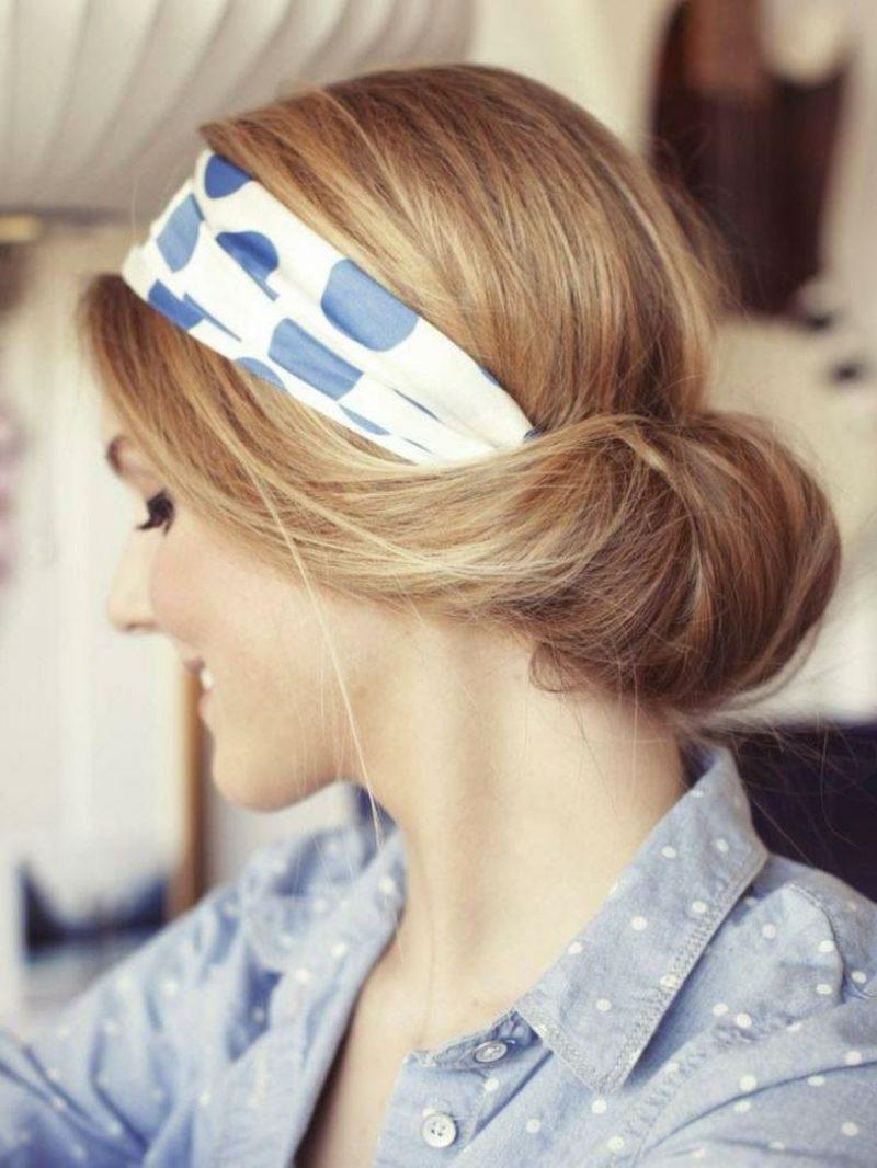 Frisuren mit Haarband zum Oktoberfest