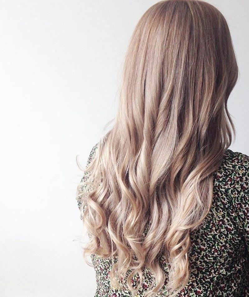 blonde Haarfarben Champagnerblond
