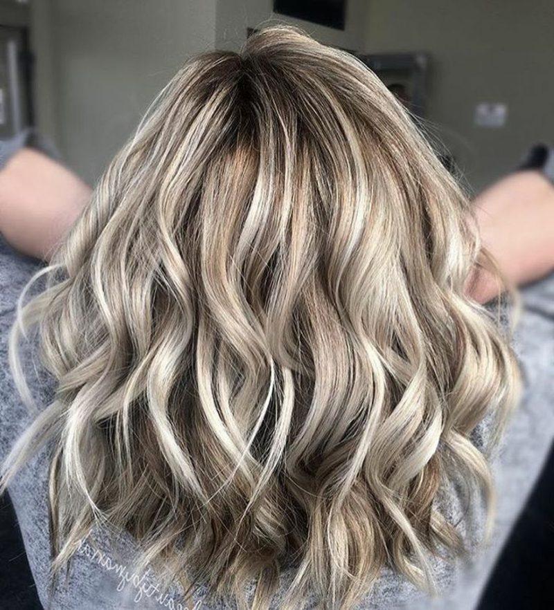 Haarfarben Nuance beige Blond