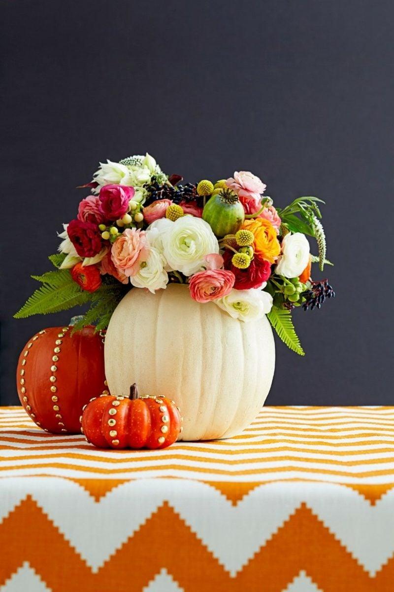 Herbstliche Tischdeko 35 inspirierende bastelideen für wunderschöne herbstdeko