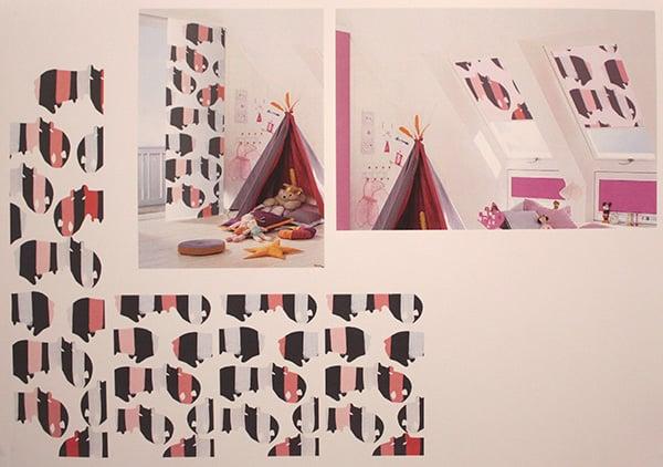 Textildesign für Kinderzimmer