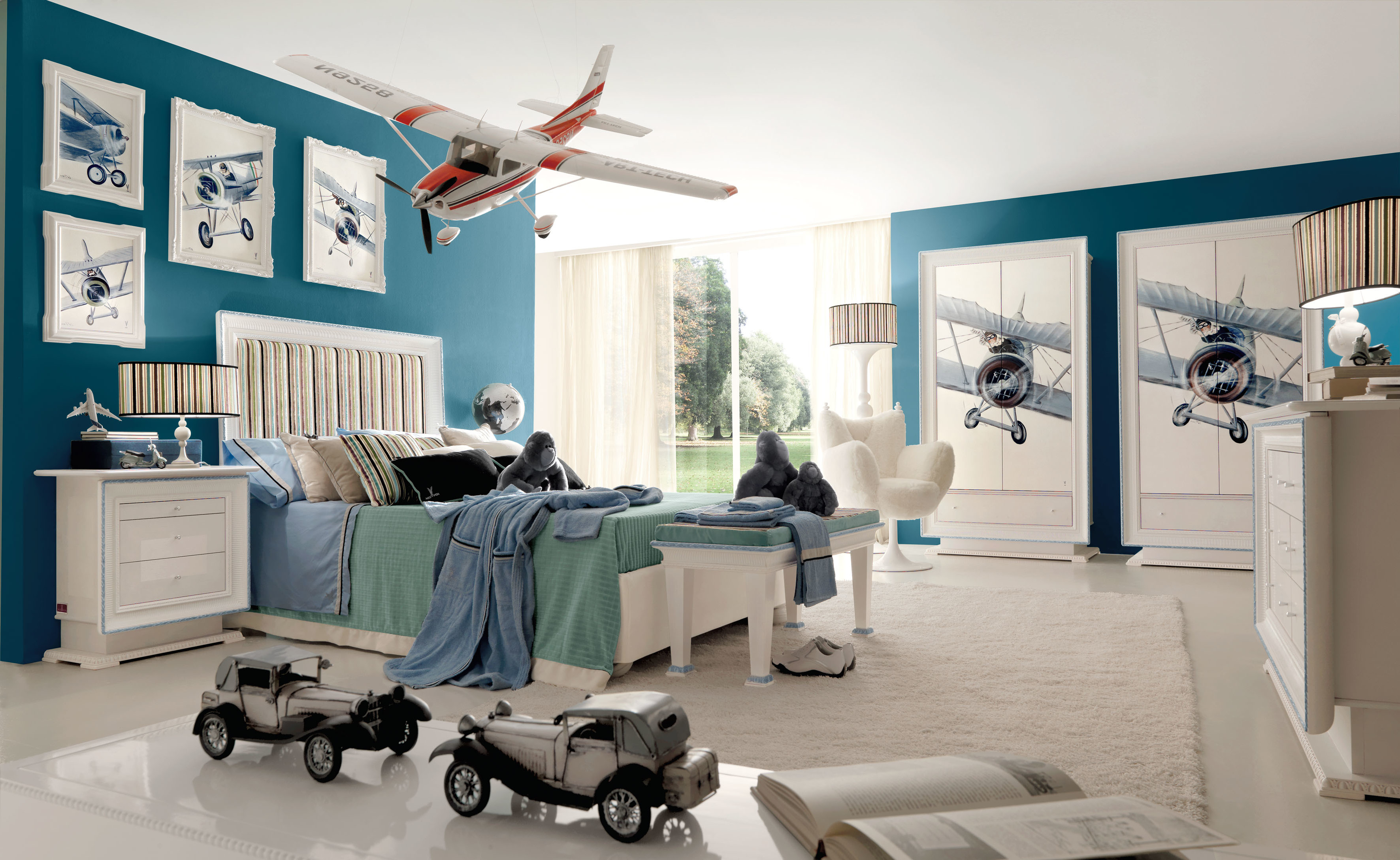 Das moderne Aviator Kinderzimmer