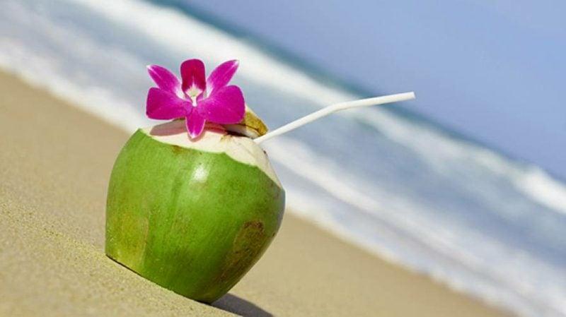 Kokoswasser gesund isotonisches Getränk