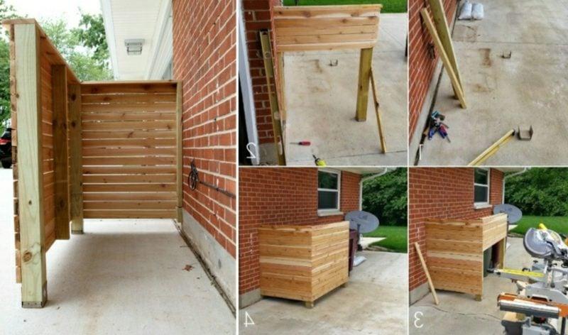 Mülleimerbox bauen Anweisungen
