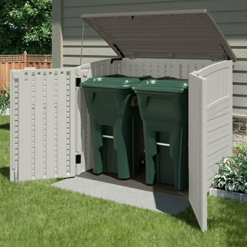 Mülltonnenbox Kunststoff PVC