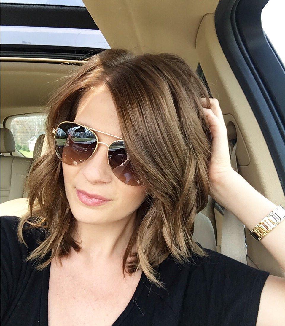 Legere Haarstyle für jeden Tag