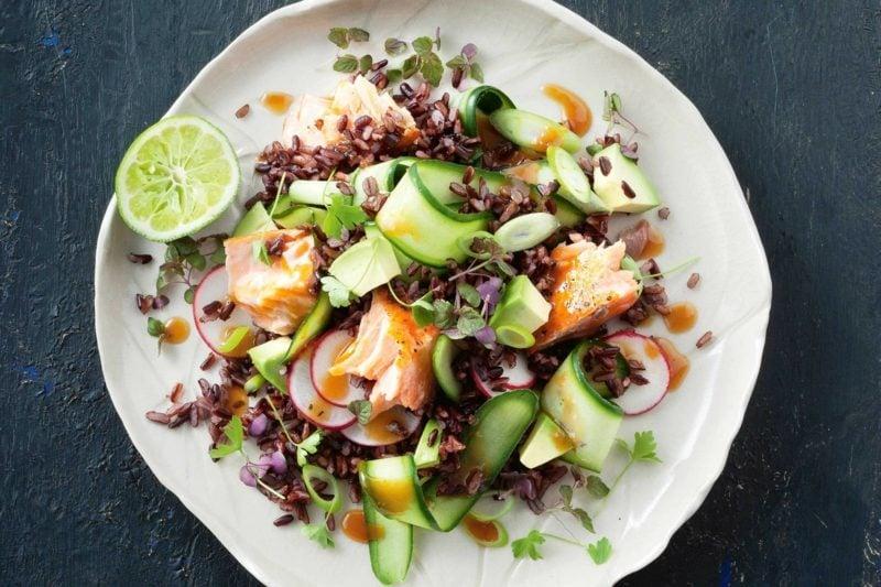black rice gesunde Rezepte