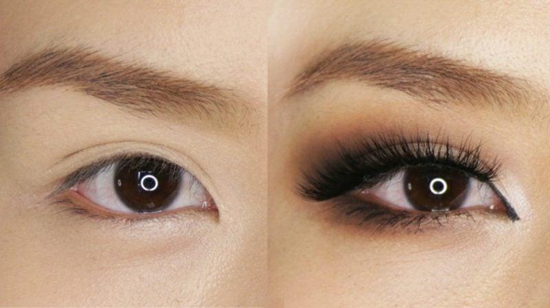 Tränensäcke entfernen Make up