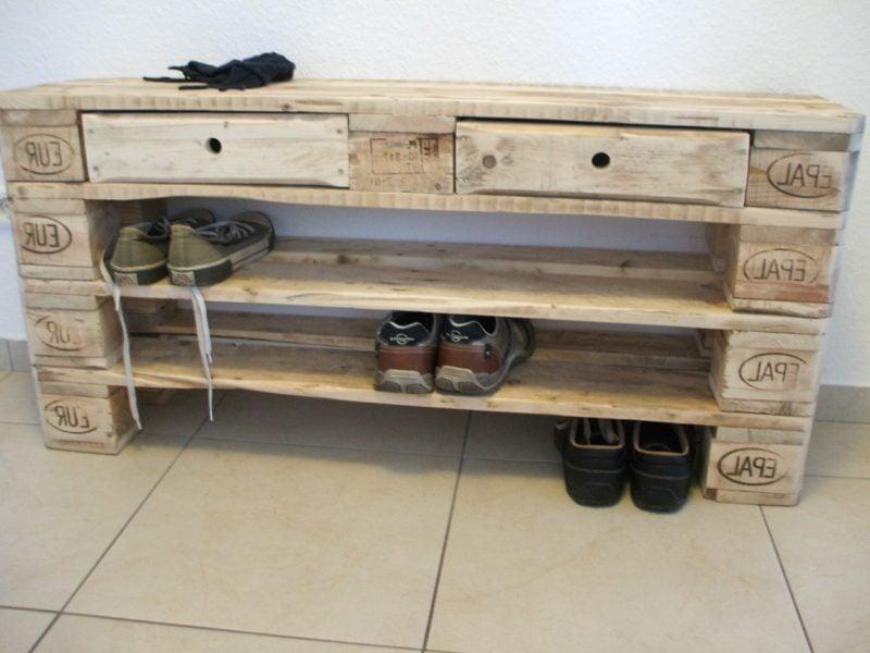 Schuhregal Selber Bauen Holz Wohn Design