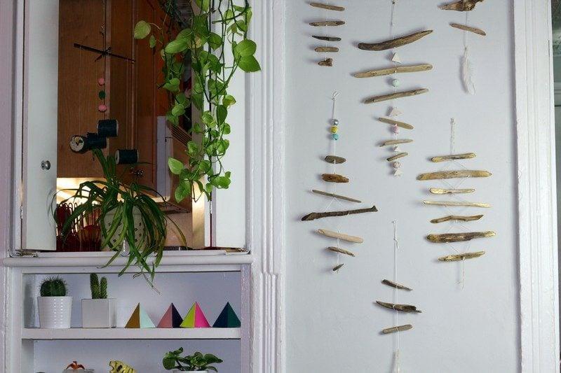 Bastelideen für Erwachsene Wanddeko selber machen