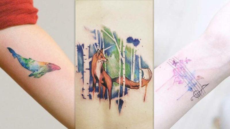 Tattoo Oldenburg Wasserfarben