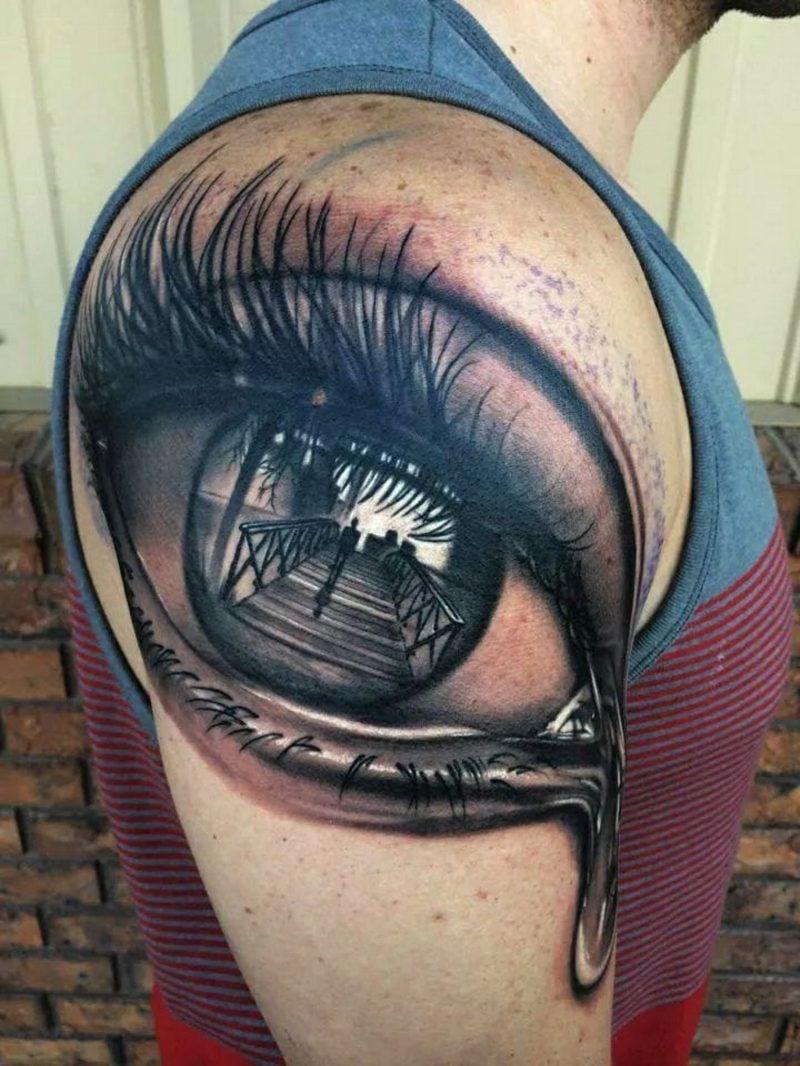 das dritte auge tattoo
