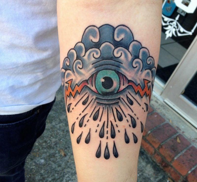 kreativen augen tattoo ideen