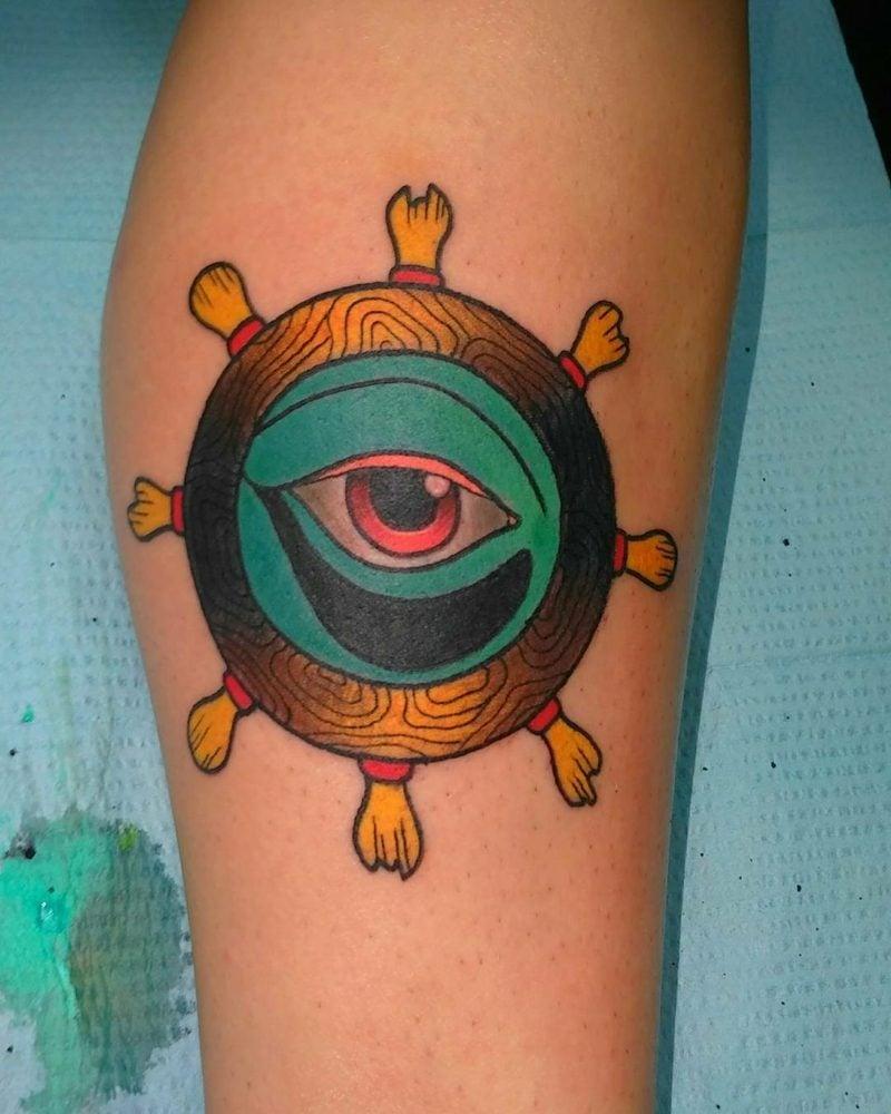 farbliche augen tatto vorlage
