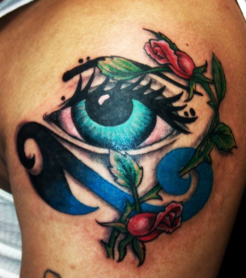 symbolische bedeutung augen tattoo