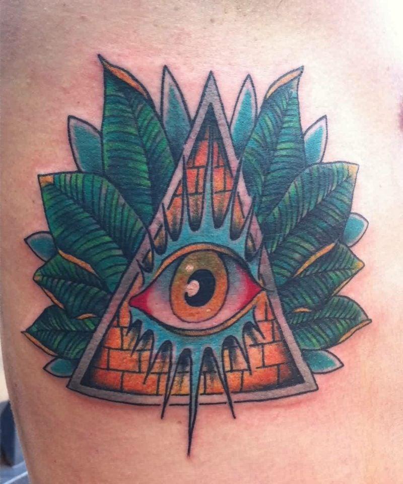 freimaurer zeichen augen tattoo