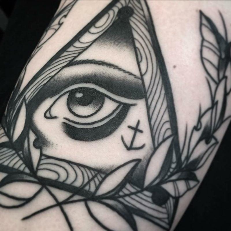 schwarz weiß augen tattoo vorlage