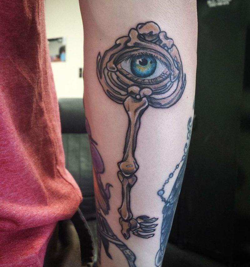 augen tattoo ideen
