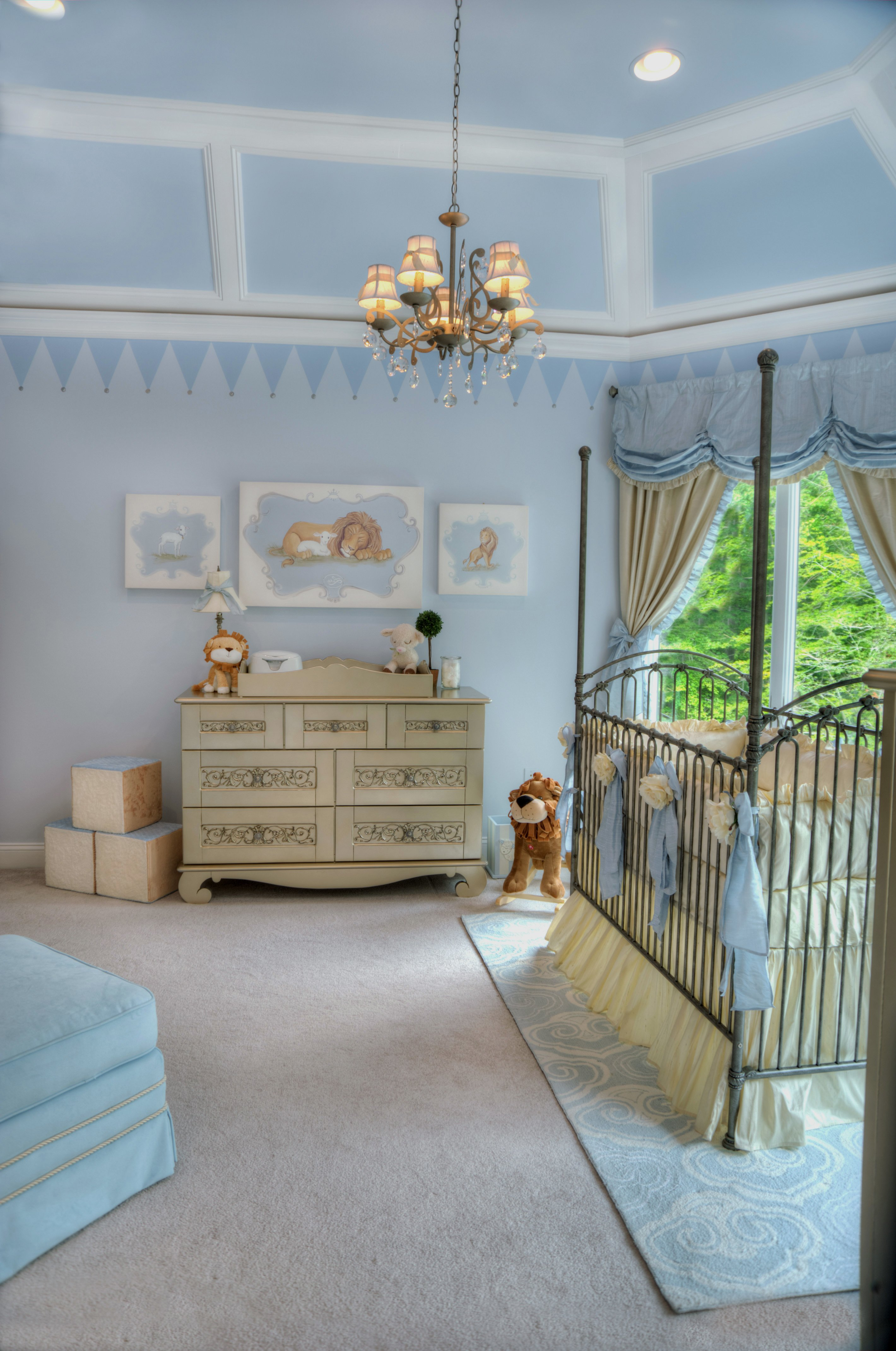 Kinderzimmer gestalten ideen f r ein schickes und gem tliches kidszone kinderzimmer zenideen - Babyzimmer gestaltungsideen ...