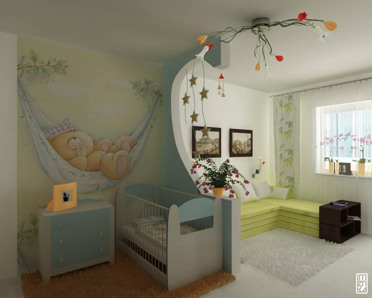 Kinderzimmer Gestaltung, weiche Farben und Gemütlichkeit