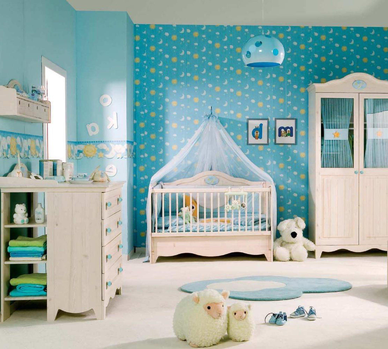Schickes Kinderzimmer für das Babyboy
