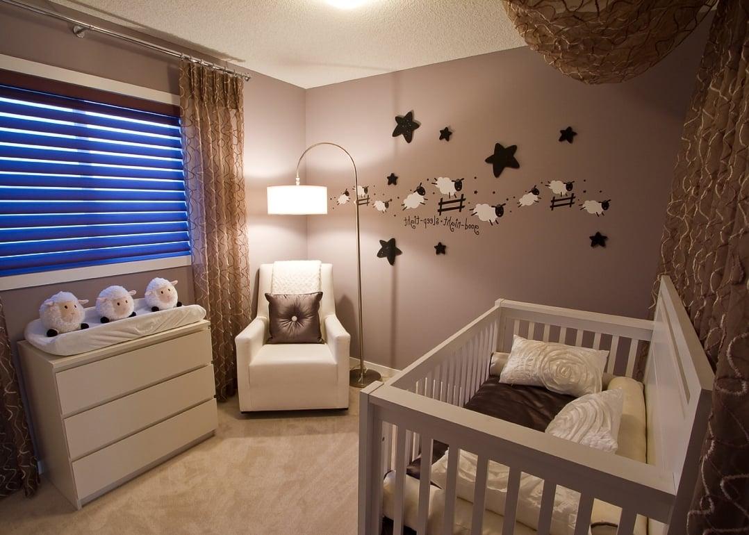Das Babyzimmer - weiche Farben und viel Gemütlichkeit