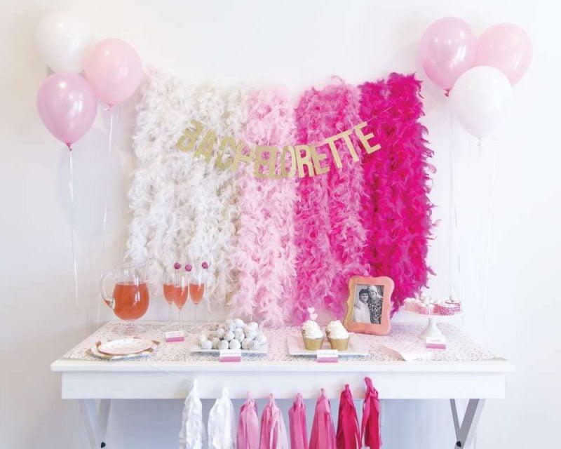 Bachelorette Party Dekoration