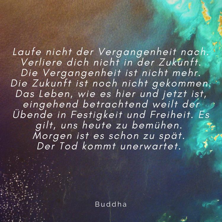 Sprüche zum Nachdenken Buddha