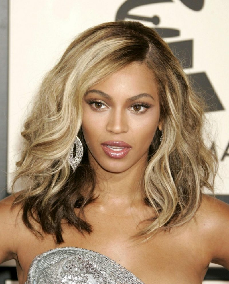 blonde Haare dunkle Haut Beyonce