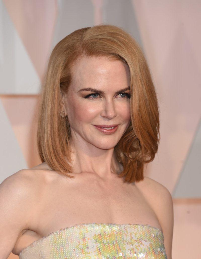 Haare blond Erdbeerblond Nicole Kidman