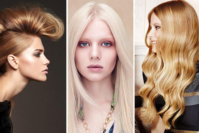 Blondtöne 2016 drei Nuancen