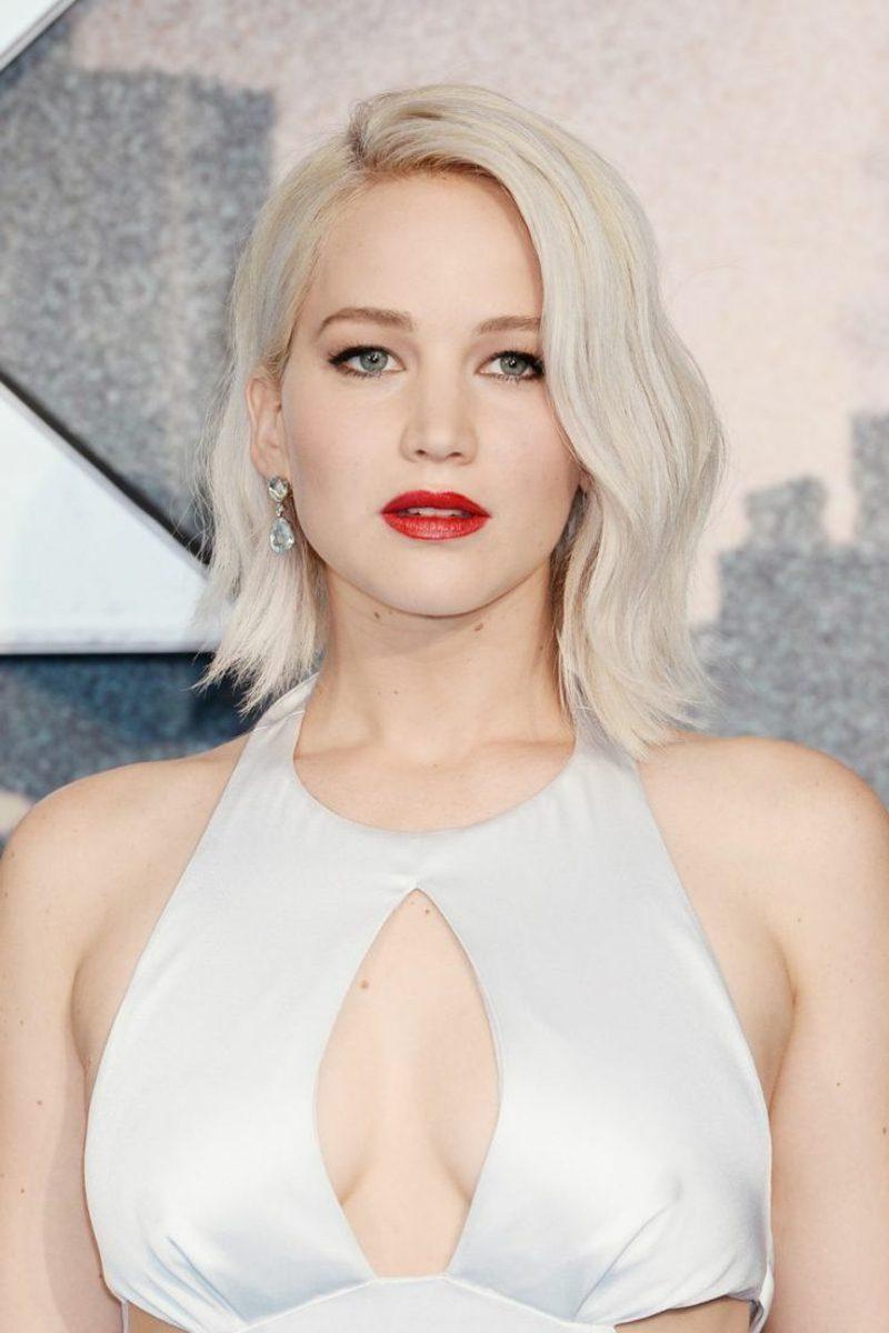kühle Haarfarben Eisblond Jennifer Lawrence