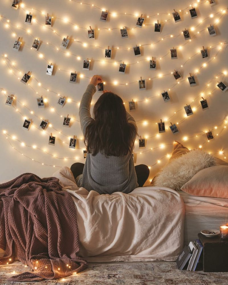 fotowand zu hause gestalten tipps und 25 kreative ideen. Black Bedroom Furniture Sets. Home Design Ideas