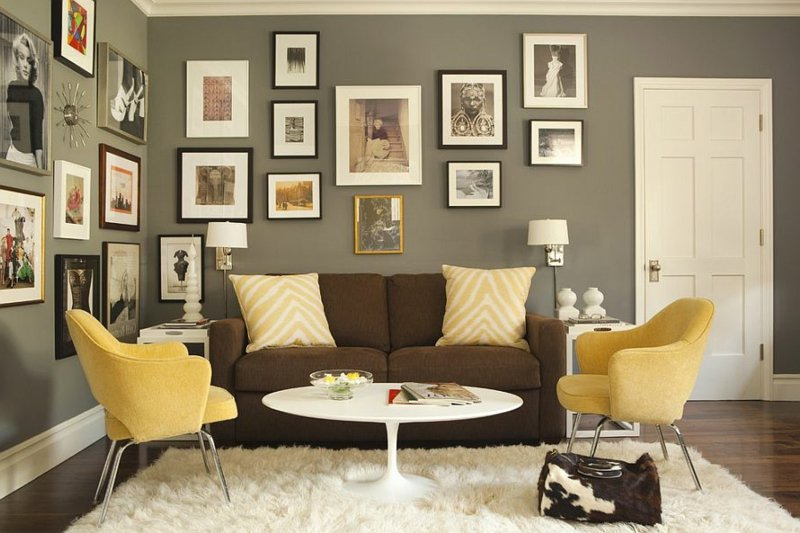 Fotowand Zu Hause Gestalten  Tipps Und 25 Kreative Ideen   Innendesign,  Wandverkleidung   ZENIDEEN