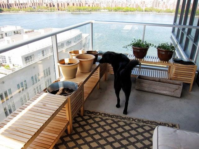 Gartenbank selber bauen für die Terrasse