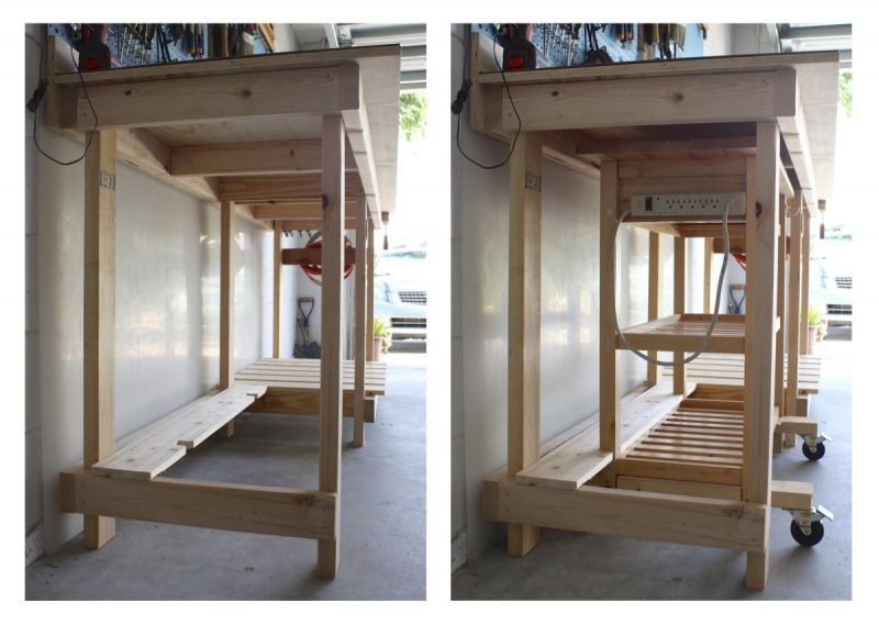 Gartenideen - Werktisch selber bauen