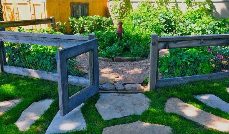 Sichtschutzzaun selber bauen