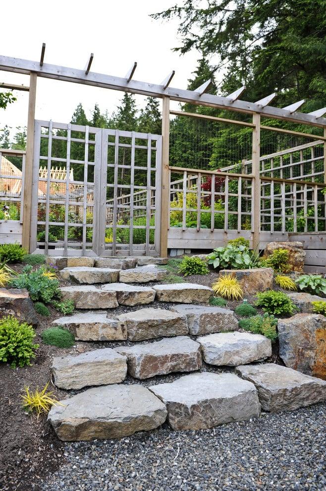 Gartenzäune selber bauen
