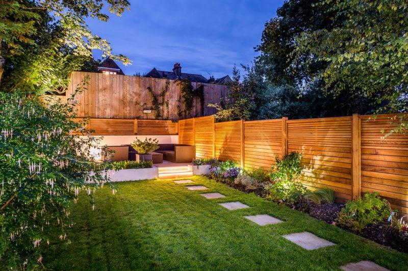 Gartenzäune Beleuchtung