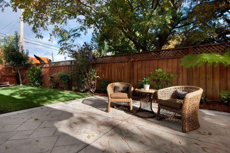 Gartenzaun Sichtschutz