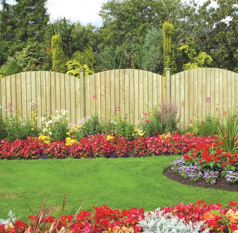 Gartenzäune als Sichtschutzzaun